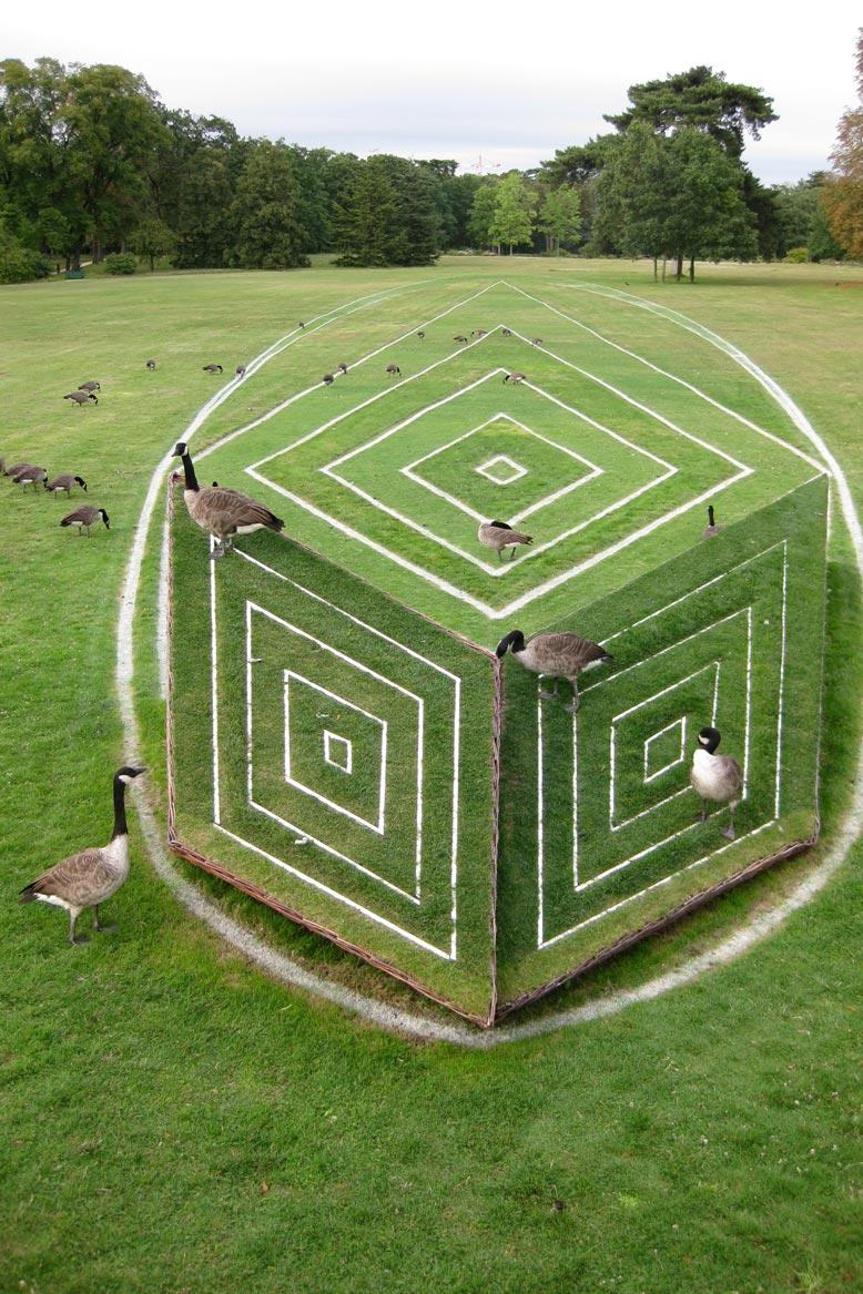 Anamorphose v g rale au parc de bagatelle for Bagatelle jardin